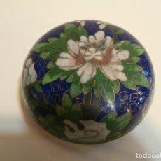 Antigüedades: CAJITA CHINA CLOISONNE. Lote 75659135