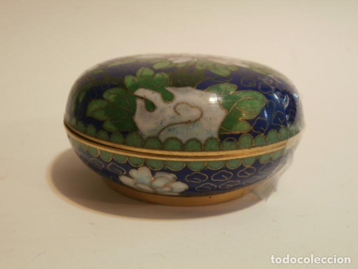 Antigüedades: Cajita china cloisonne - Foto 2 - 75659135