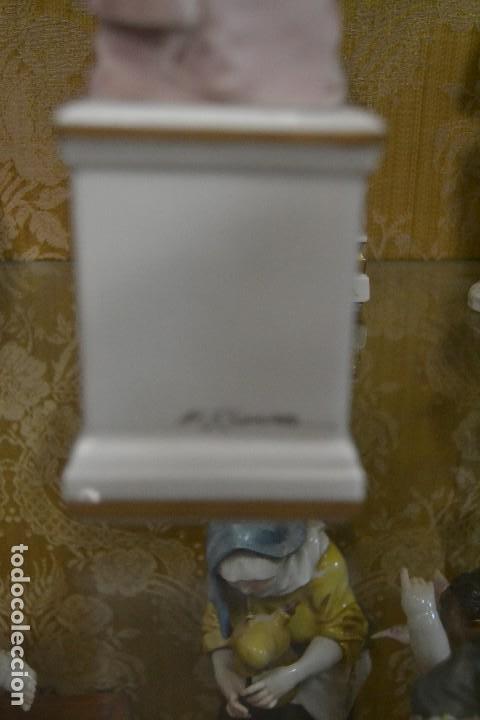 Antigüedades: figura carnaval porcelana algora - Foto 3 - 75669095