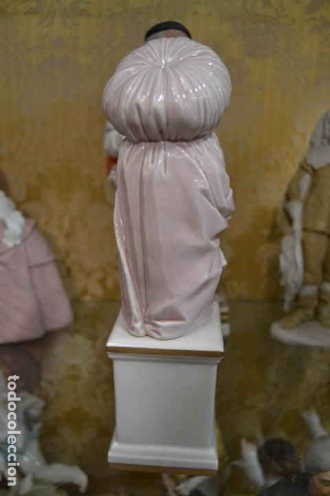Antigüedades: figura carnaval porcelana algora - Foto 4 - 75669095