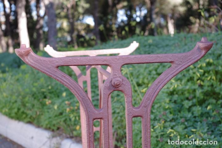 Antigüedades: Base de mesa de hierro forjado - Foto 3 - 75680539