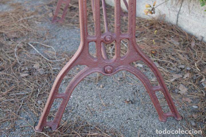 Antigüedades: Base de mesa de hierro forjado - Foto 4 - 75680539