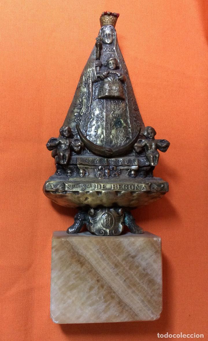 VIRGEN NUESTRA SEÑORA DE BEGOÑA (Antigüedades - Religiosas - Orfebrería Antigua)
