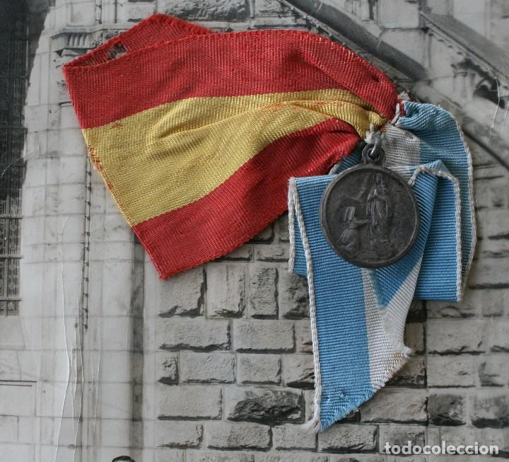 Antigüedades: FOTOGRAFIA NUMERADA CON MEDALLA: PEREGRINACIÓN DIOCESANA MALAGA LOURDES 1958 VER FOTOGRAFIAS - VIRON - Foto 4 - 75705115