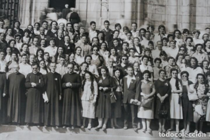 Antigüedades: FOTOGRAFIA NUMERADA CON MEDALLA: PEREGRINACIÓN DIOCESANA MALAGA LOURDES 1958 VER FOTOGRAFIAS - VIRON - Foto 7 - 75705115