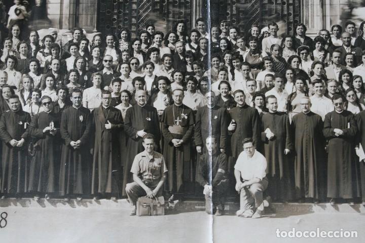 Antigüedades: FOTOGRAFIA NUMERADA CON MEDALLA: PEREGRINACIÓN DIOCESANA MALAGA LOURDES 1958 VER FOTOGRAFIAS - VIRON - Foto 8 - 75705115