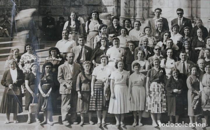 Antigüedades: FOTOGRAFIA NUMERADA CON MEDALLA: PEREGRINACIÓN DIOCESANA MALAGA LOURDES 1958 VER FOTOGRAFIAS - VIRON - Foto 10 - 75705115
