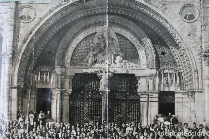 Antigüedades: FOTOGRAFIA NUMERADA CON MEDALLA: PEREGRINACIÓN DIOCESANA MALAGA LOURDES 1958 VER FOTOGRAFIAS - VIRON - Foto 11 - 75705115