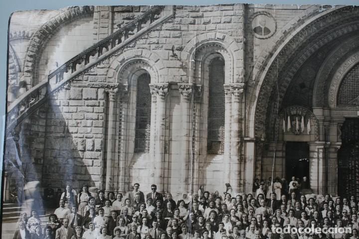 Antigüedades: FOTOGRAFIA NUMERADA CON MEDALLA: PEREGRINACIÓN DIOCESANA MALAGA LOURDES 1958 VER FOTOGRAFIAS - VIRON - Foto 12 - 75705115