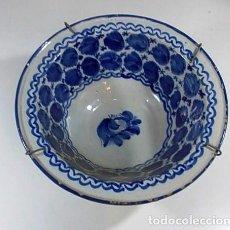 Antigüedades: ANTIGUO Y PRECIOSO LEBRILLO DE BUEN TAMAÑO Y EN BUEN ESTADO. Lote 75737691