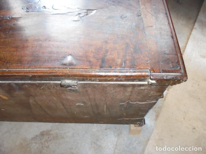 Antigüedades: Arca de nogal del SXVII - Foto 35 - 75068883