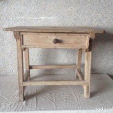 Antigüedades: ANTIGUA MESA TOCINERA PARA RESTAURAR. Lote 215570165