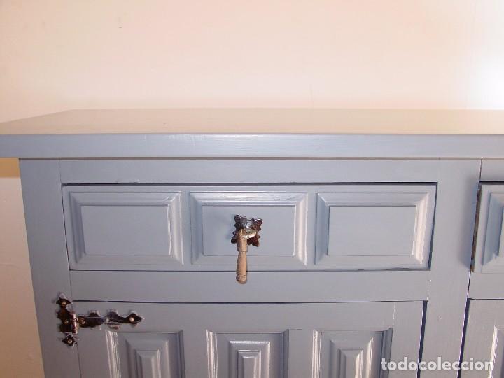 Antiguo mueble castellano restaurado comprar aparadores - Muebles restaurados online ...