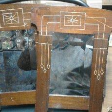 Antigüedades: PAREJA DE ESPEJOS AÑOS 20. Lote 75818646