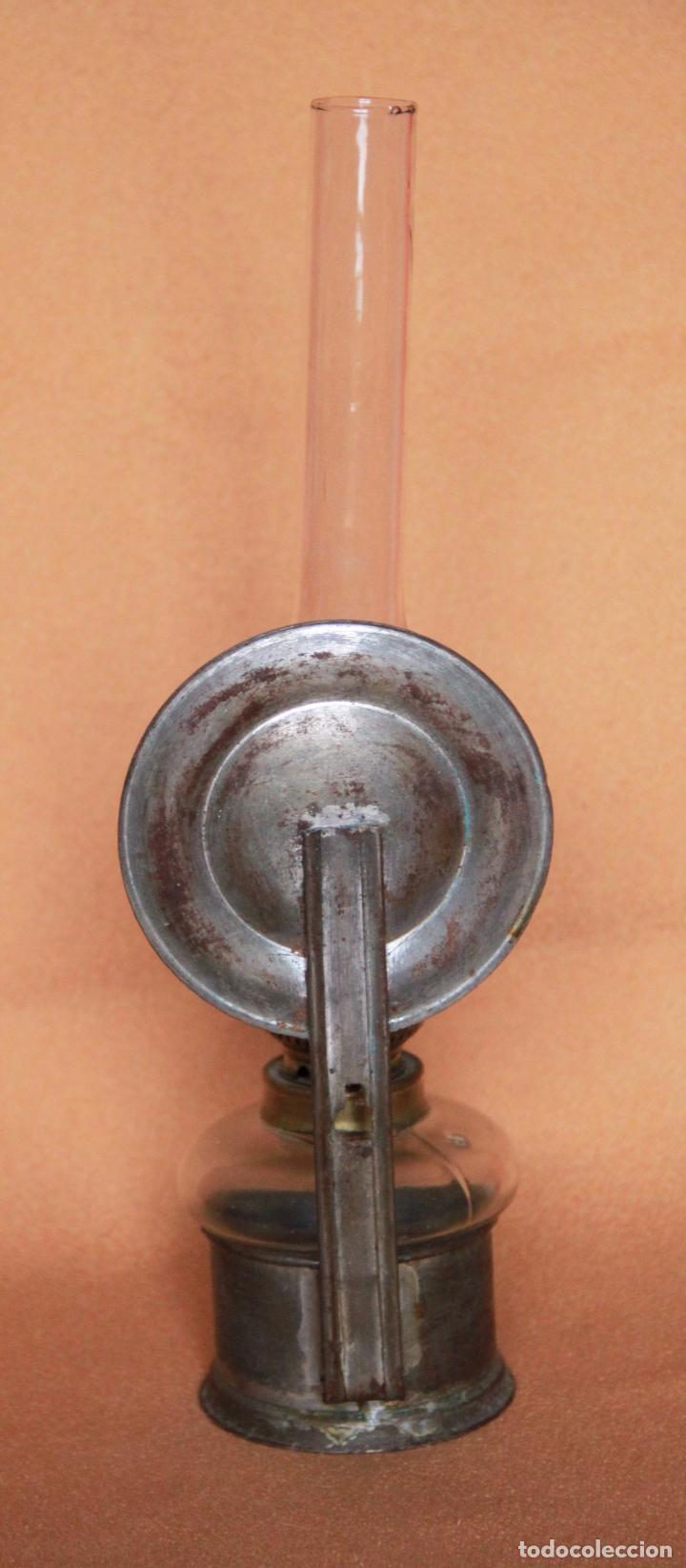 Antigüedades: QUINQUE - LAMPARA DE ACEITE O PETROLEO - Foto 4 - 75868219
