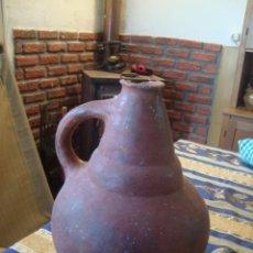Antigüedades: CANTARO DE CERAMICA MUY ANTIGUO. Lote 75881011