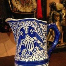 Antigüedades: JARRA ANTIGUA DE MANISES ENUMERADA.. Lote 75922959
