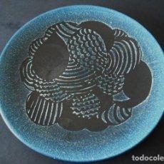 Antigüedades: SERRA, PLATO DE CERÁMICA 31 CM DIÁMETRO. FIRMADO.. Lote 75925027