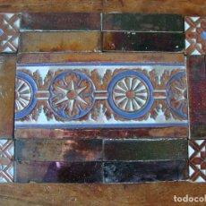 Antigüedades: COMPOSICION DE AZULEJOS RAMOS REJANO. Lote 75930563
