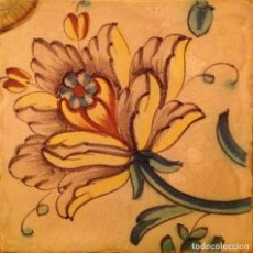 Antigüedades: ANTIGA RAJOLA VALENCIANA, S. XVIII. Lote 75933307