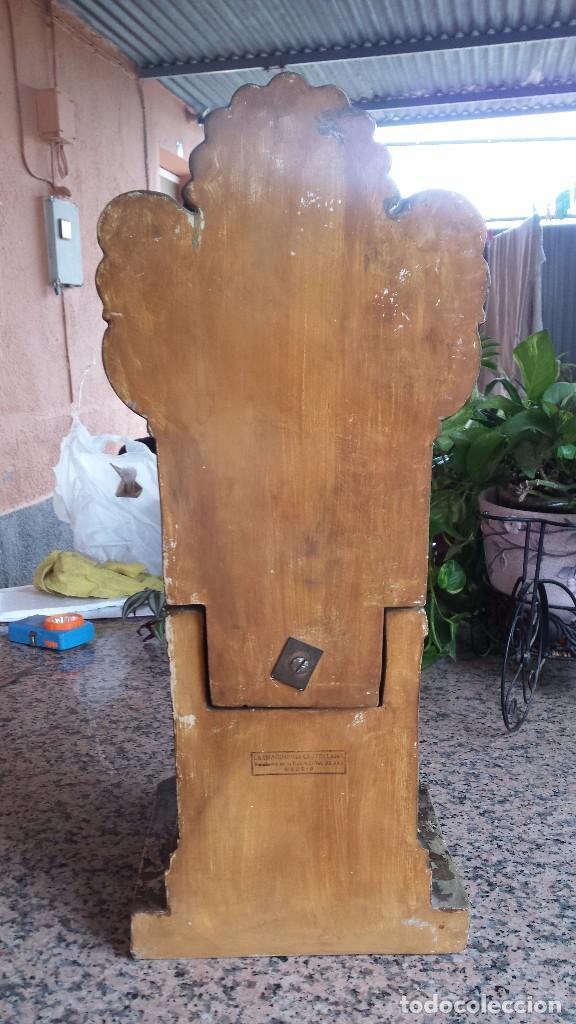 Antigüedades: antiguo imagen del sagrado corazon , imageneria castellana , fernandez de la hita , madrid - Foto 6 - 75933787
