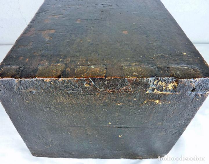Antigüedades: Pequeño escritorio o secreter de sobremesa de finales del siglo XIX o principios del XX - Foto 6 - 75973671