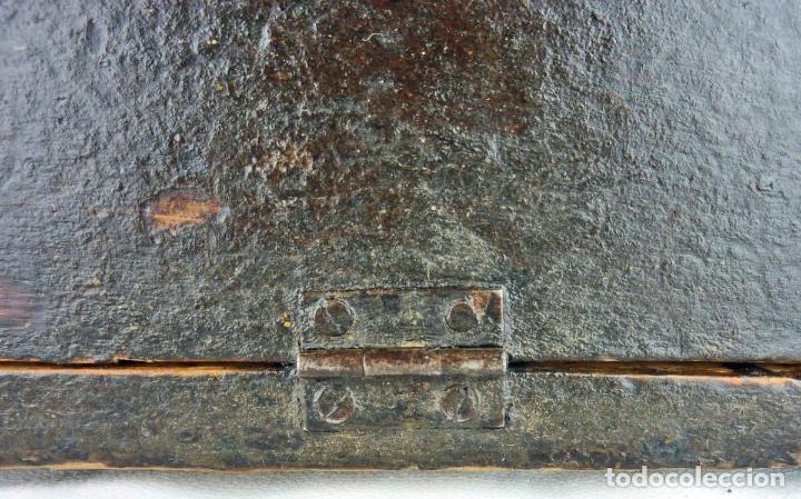 Antigüedades: Pequeño escritorio o secreter de sobremesa de finales del siglo XIX o principios del XX - Foto 11 - 75973671