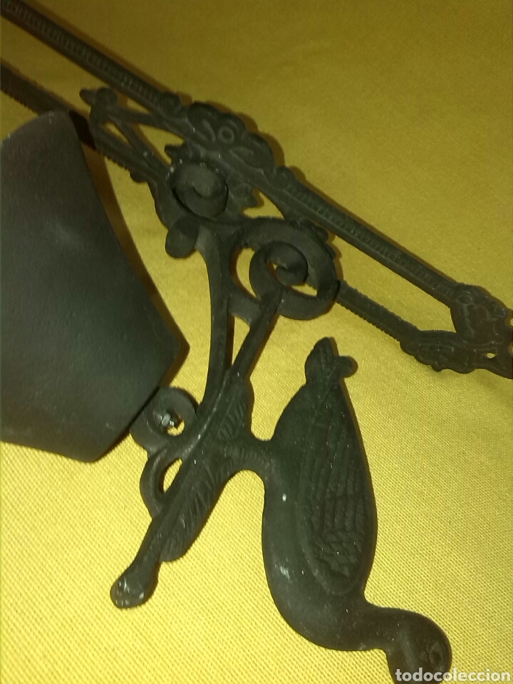 Antigüedades: Llamador Campana hierro fundido - Foto 2 - 75998799