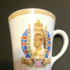 Antigüedades: TAZA CONMEMORATIVA CORONATION KING EDWARD VIII. Lote 76054447