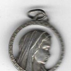 Antigüedades: MEDALLA DE PLATA - NUESTRA SEÑORA DE LOURDES. Lote 76055971