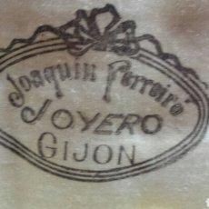 Antigüedades: CUBERTERÍA. JOYERO, JOAQUIN FERREIRO. GIJON.. Lote 76063307