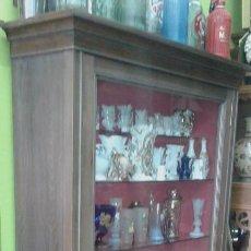 Antigüedades: VITRINA DE HAYA MEDIADOS SIGLO XX. Lote 76073307