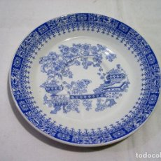 Antigüedades: PLATO PONTESA CHINA BLAU - 15 CM. Lote 76086631