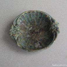 Antigüedades: CENICERO DE BRONCE. Lote 76128723