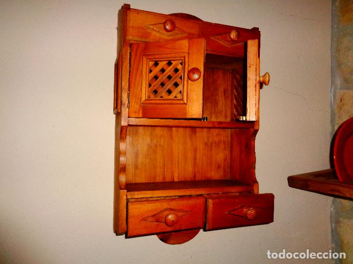 Antigüedades: Mueble armario para cocina - Foto 2 - 76146135