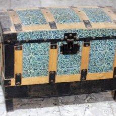 Antigüedades: ANTIGUO BAUL, 71X50X36CM, VINTAGE. Lote 76157999