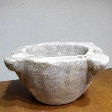 Antigüedades: ANTIGUO MORTERO DEL XVIII PIEDRA TIPO CALIZA. Lote 76181443