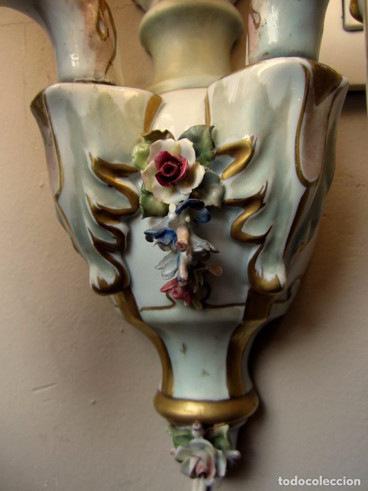 Antigüedades: MARAVILLOSO APLIQUE - Foto 2 - 76206923