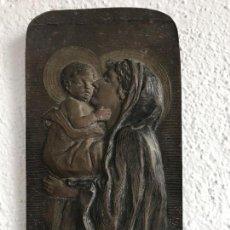 Antigüedades: ESPECTACULAR BENDITERA DE BRONCE FIRMADA 1900,S . Lote 76223031