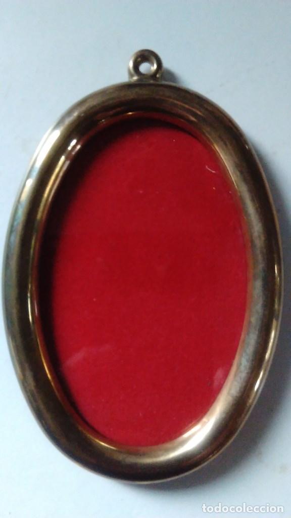 marco de bronce con forma ovalada - Comprar Marcos Antiguos de ...