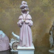 Antigüedades: FIGURA CARNAVAL DE PORCELANA ALGORA. Lote 76340553