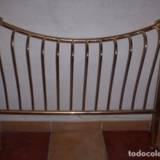 Antigüedades: CABECERO DE LATON O METAL MUY BONITO. . Lote 76345023