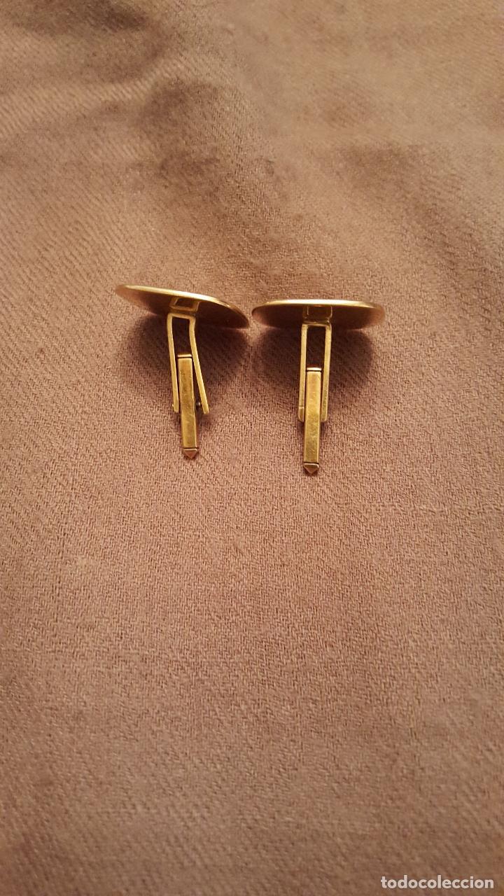 Antigüedades: Gemelos art-deco, en oro - Foto 2 - 76467247