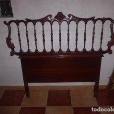 Antigüedades: CABEZAL DE MADERA PARA CAMA. . Lote 76476399
