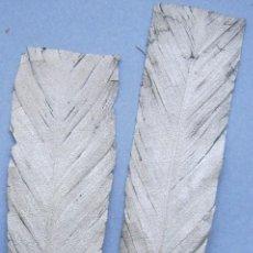 Antigüedades: PAREJA DE ANTIGUAS PLUMAS ART DECO PLATEADAS PPIO. S. XX . Lote 76514375