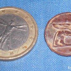 Antigüedades: ANTIGUA PLACA ESFINGE MOTIVO EGIPCIO. Lote 76533567