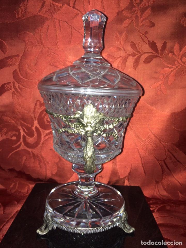 Antigüedades: Bombonera cristal - Foto 4 - 76555314
