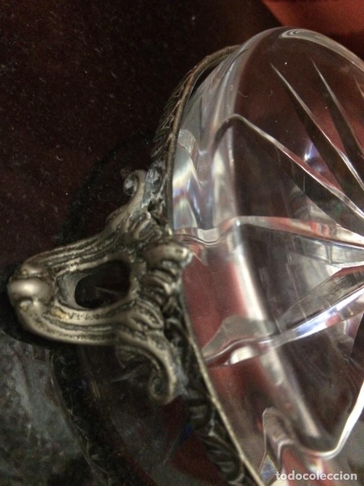 Antigüedades: Bombonera cristal - Foto 7 - 76555314