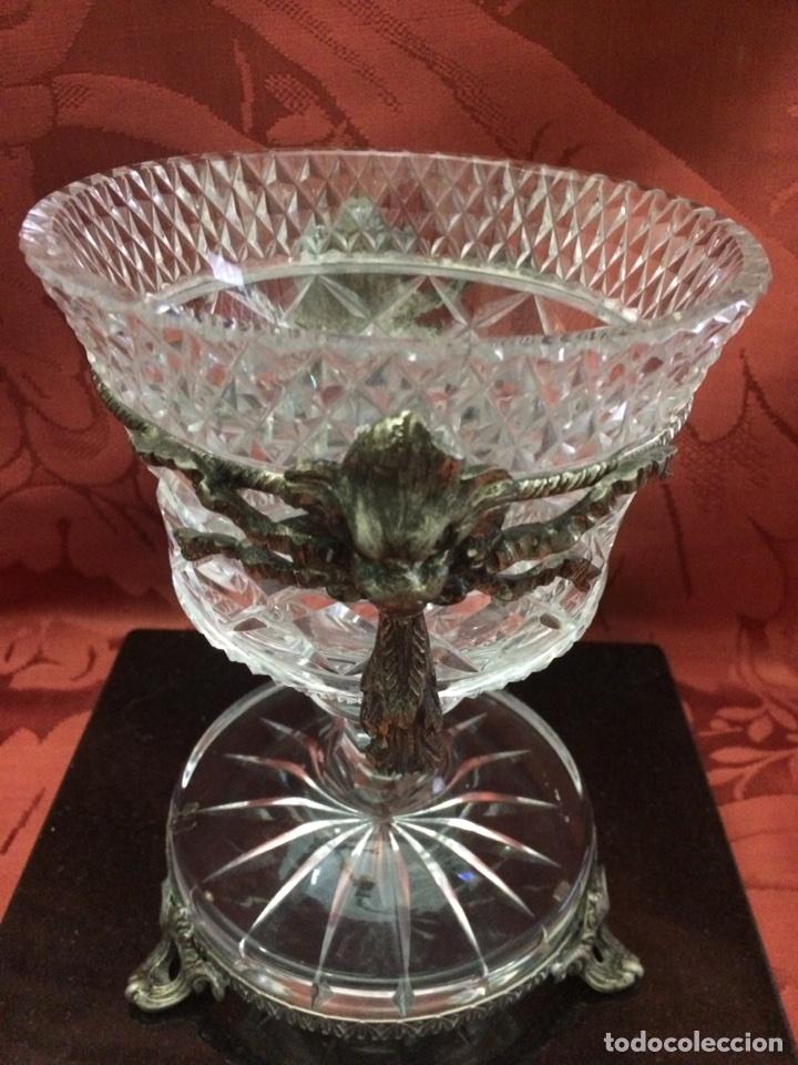 Antigüedades: Bombonera cristal - Foto 8 - 76555314