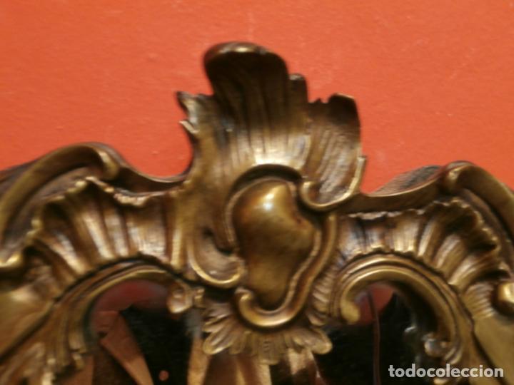 Antigüedades: Espejo de bronce - Foto 4 - 76564967